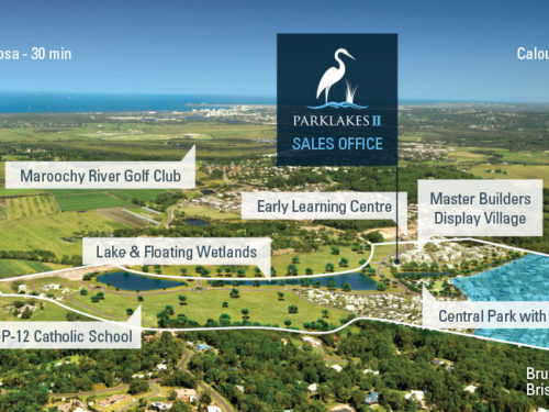 Parklakes 2 new land estate